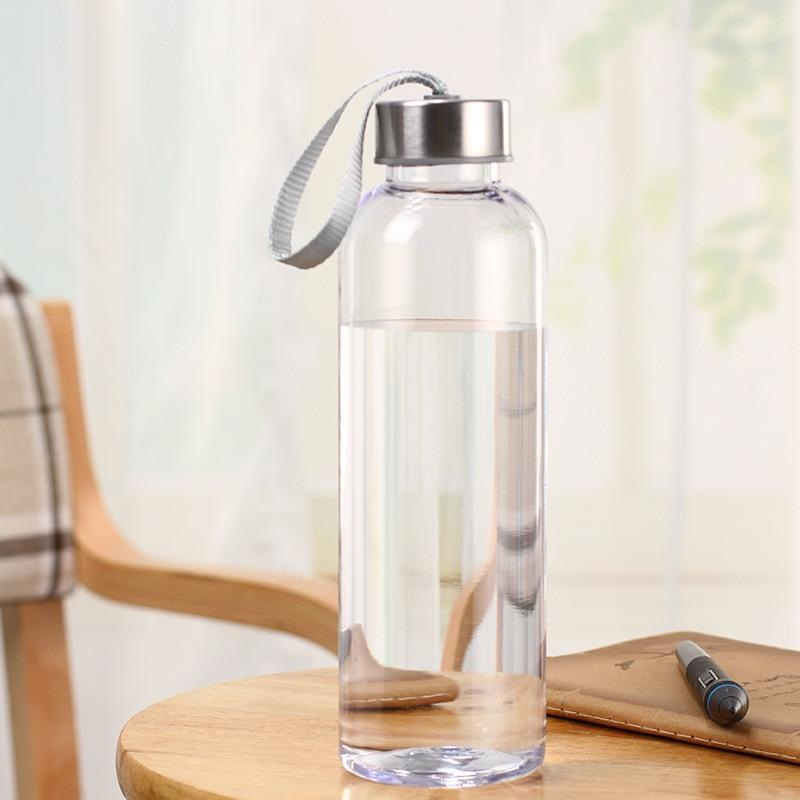300/400/500ML Outdoor Camping Hiking Yoga Bicycle Space Water <font><b>Bottle</b></font> Gift