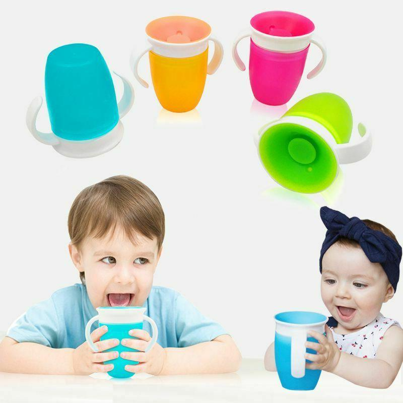 360 Degrees plastic Cup Magic Water Bottle