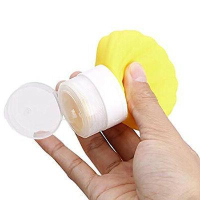 3X(5 Travel-Bottles Shampoo Lotion