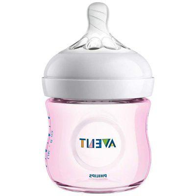 - NEW - Avent Natural Bottles 3-Pack