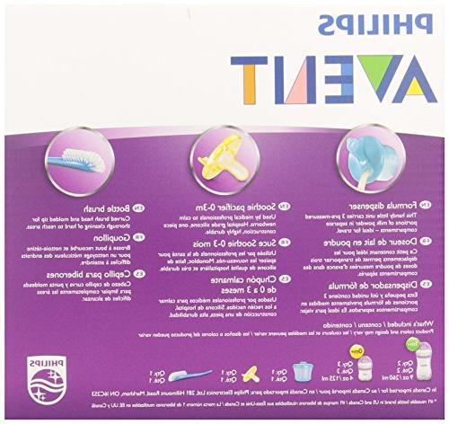 Philips Avent Natural Baby Bottle Starter SCD296/02