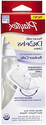 Playtex Cs05328/05587 4 Oz Premium Nurser Drop Ins Bottle As