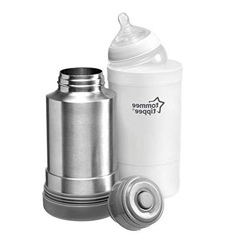 Tommee Tippee Nature Portable Travel Baby Bottle Warmer Function -  BPA Free