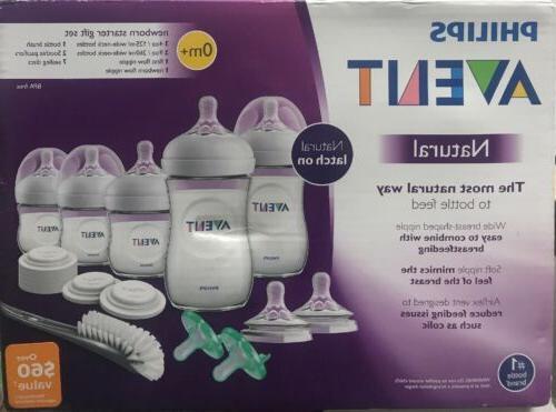 avent natural baby bottles newborn starter gift