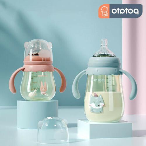 POTATO Medium Flow Anti-Colic BPA Free Baby Bottles PPSU Bot