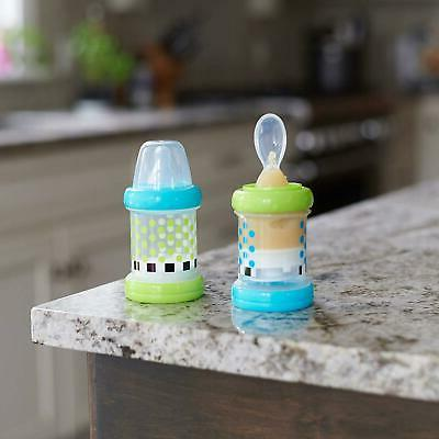 Baby Feeder Food Nurser Sassy of 2 Spoon