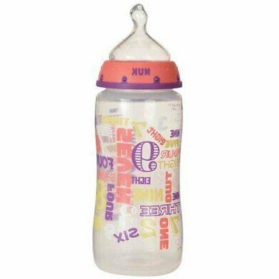 NUK Babytalk Orthodontic Bottle 0+ month