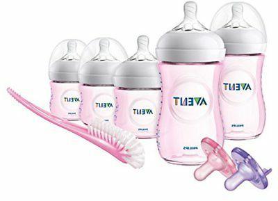 bottle pink gift set