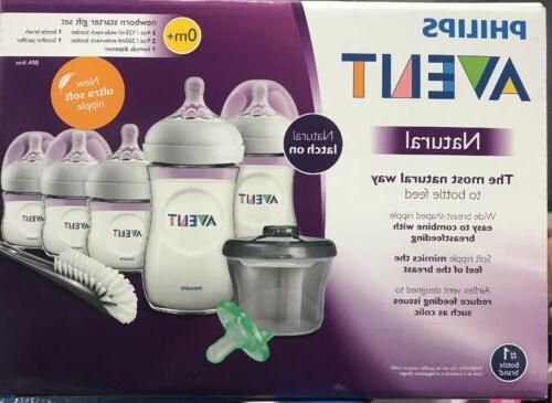 SCD206//02 Philips Avent Natural Baby Bottle Newborn Starter Gift Set NEW