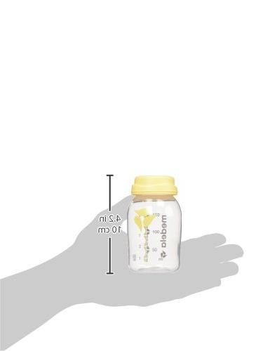 Medela, Breast and Storage 5 Ounce Bottle, made with with Medela Breast Safe, to Volume Bottles
