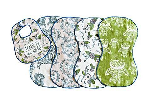 burp cloth woodland dream 5 pack 4