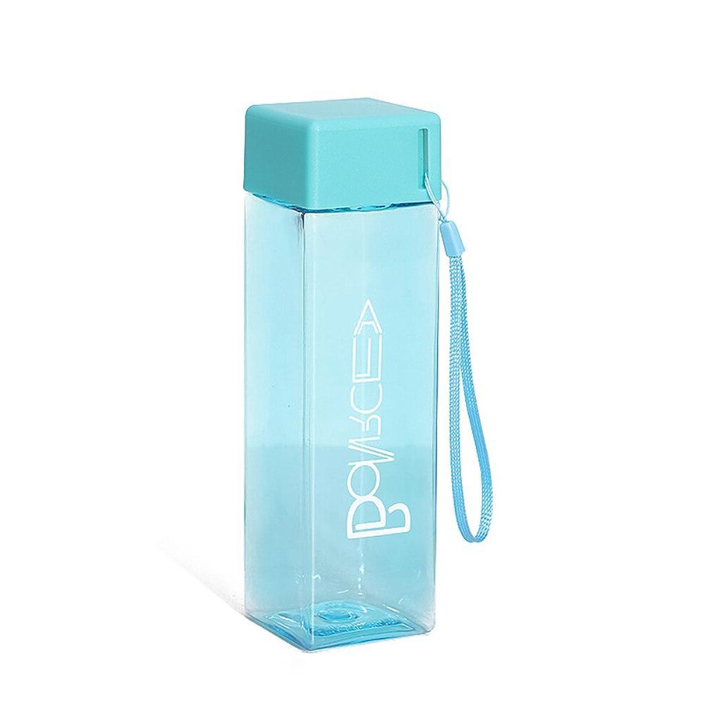 Cute Tea Fruit Cup Water <font><b>Bottles</b></font> Rope Transparent Sport Korean Style Heat Resistant Hot Sale