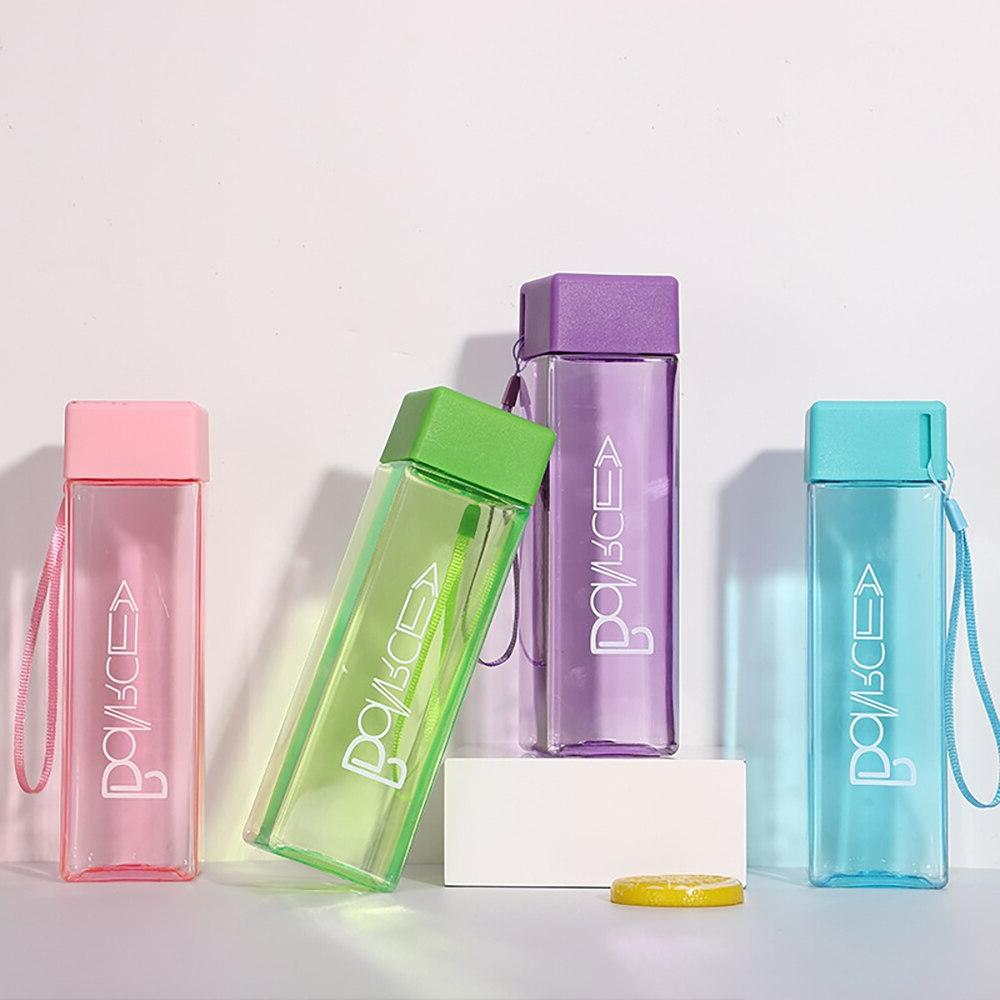 Cute Fruit Water <font><b>Bottles</b></font> Drink Rope Transparent Style Heat Resistant Sale