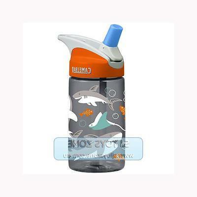 CamelBak Eddy 0.4 Liter Kids Water Bottle Sharks