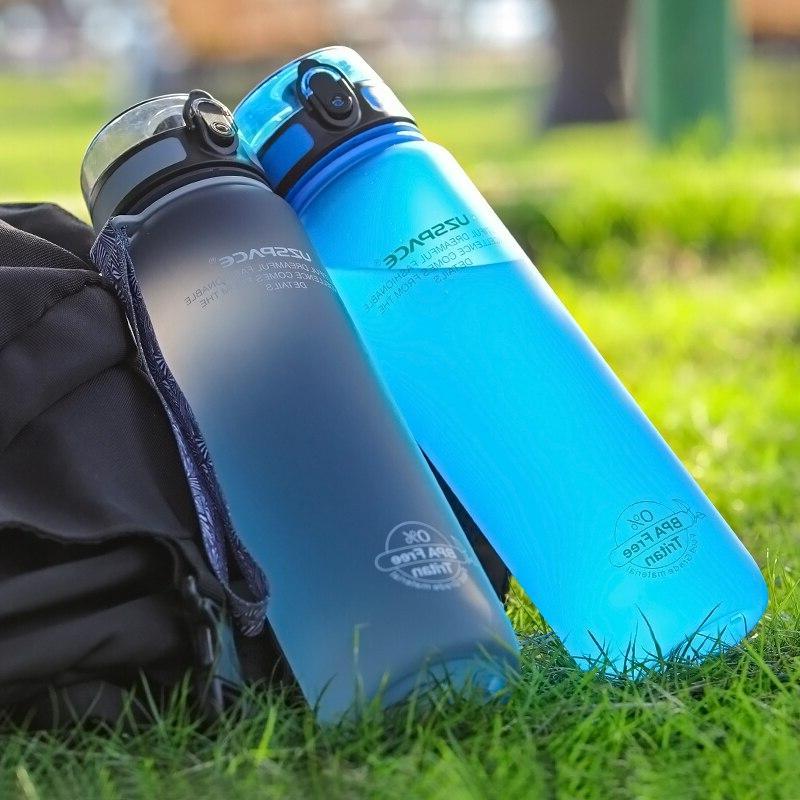 Explosion 500ML 1L Outdoor Travel Portable Tritan plastic <font><b>Bottle</b></font> BPA Free