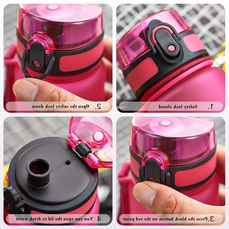 500ML 1L Protein Outdoor Travel Portable Tritan My <font><b>Bottle</b></font> BPA Free
