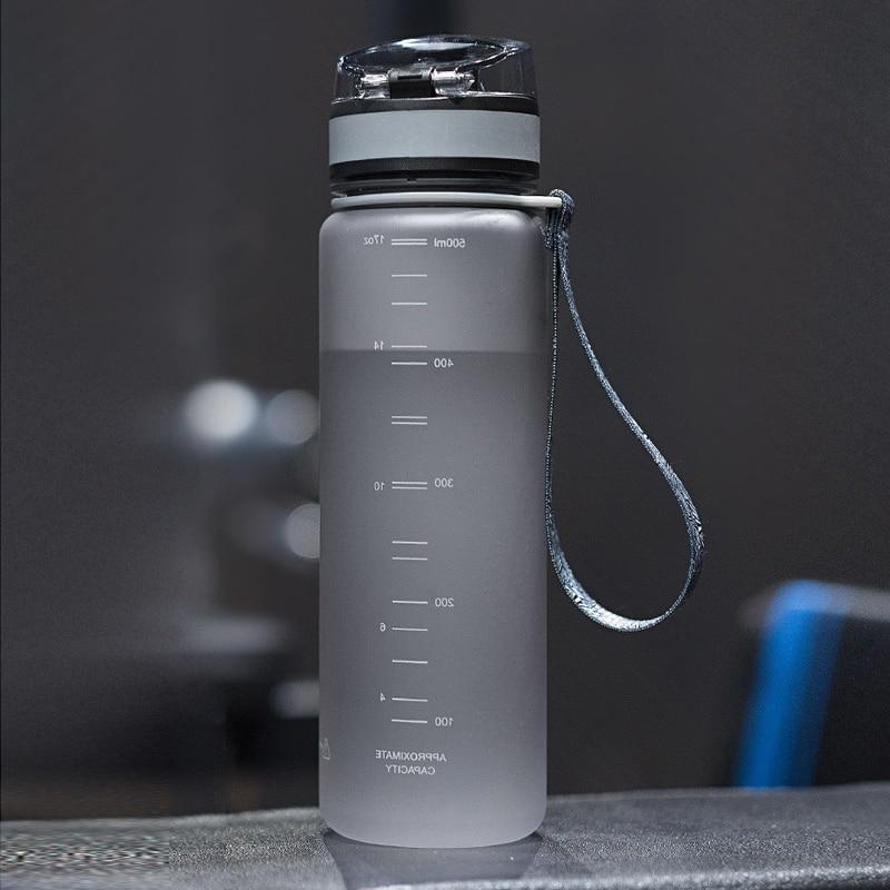 Explosion <font><b>Sports</b></font> <font><b>Water</b></font> <font><b>Bottles</b></font> 500ML Outdoor Leakproof Tritan plastic My Drink <font><b>Bottle</b></font> BPA
