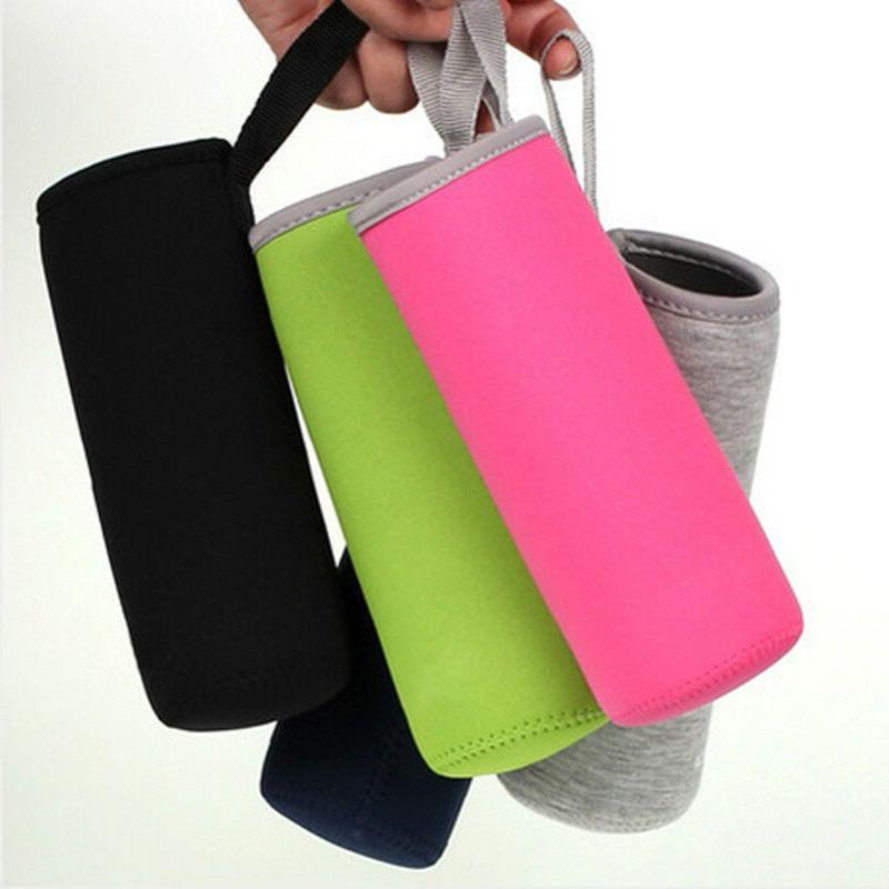 Sport Water Bottle Case Insulator Bag Neoprene Pouch Holder Sleeve Carrier