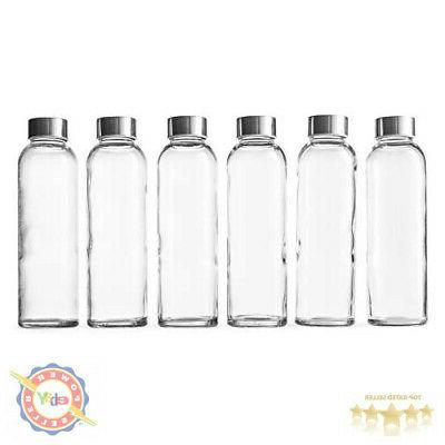 glass beverage bottles oz metal