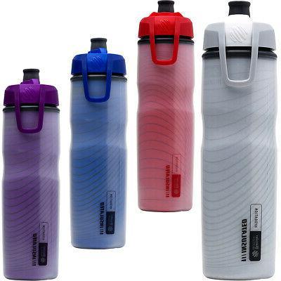 halex 24 oz insulated squeeze bike water
