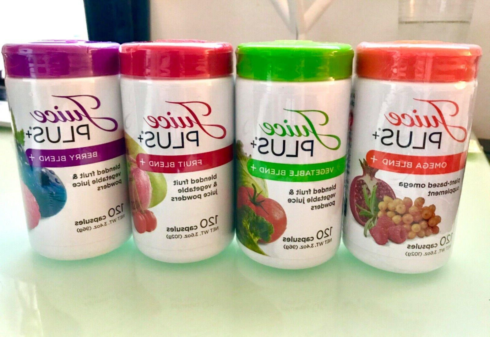 juice plus 4 bottles 2 months 480