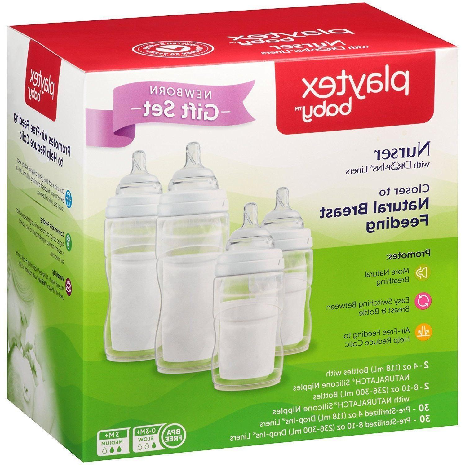 L033 Gift Set BPA-Free Bottles Drop In Liners NEW