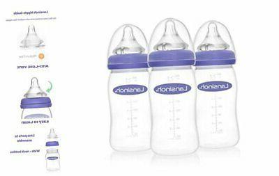 lansinoh breastfeeding bottles for baby 8 ounces