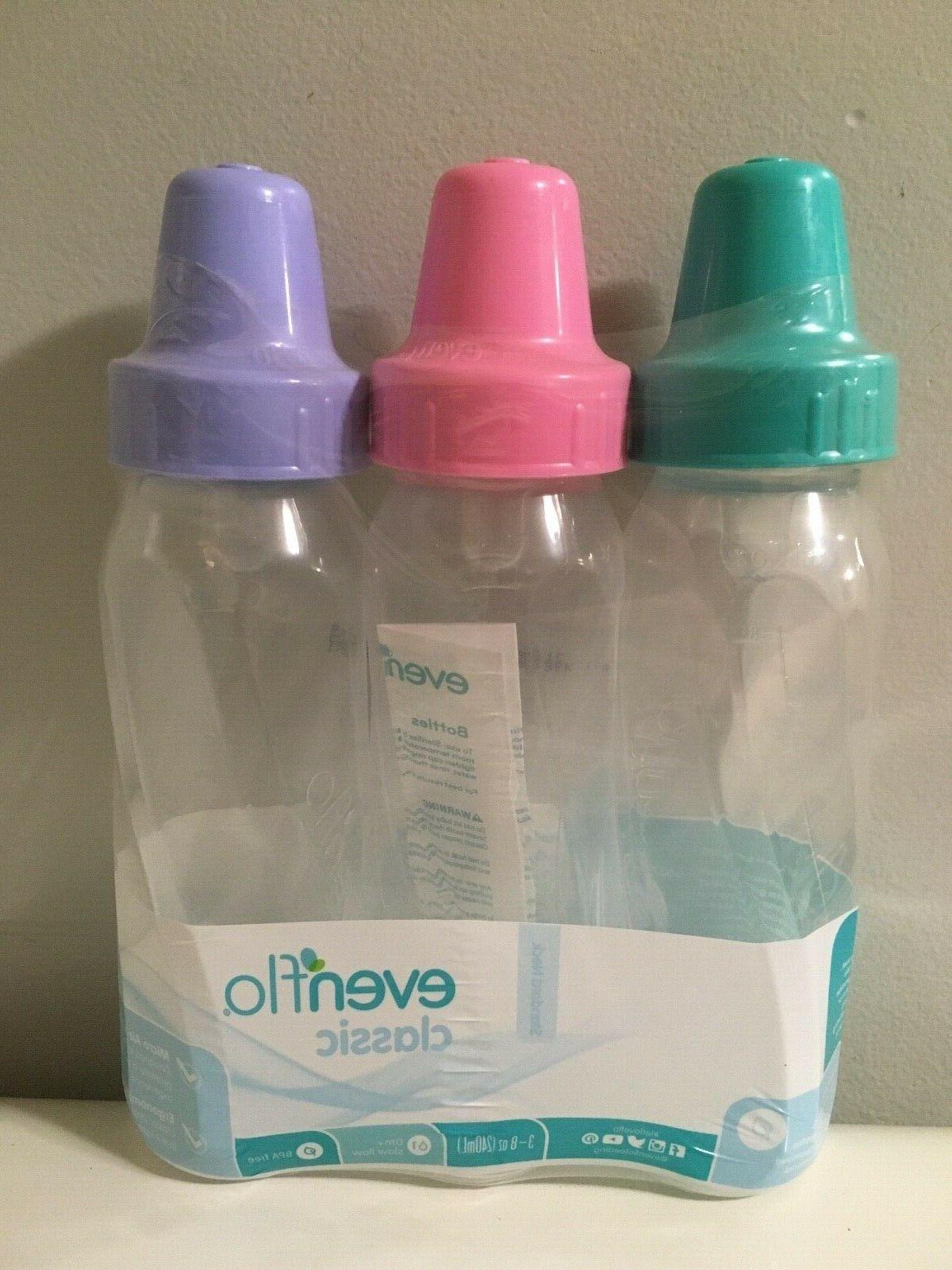 new classic baby bottles 8 ounce pink
