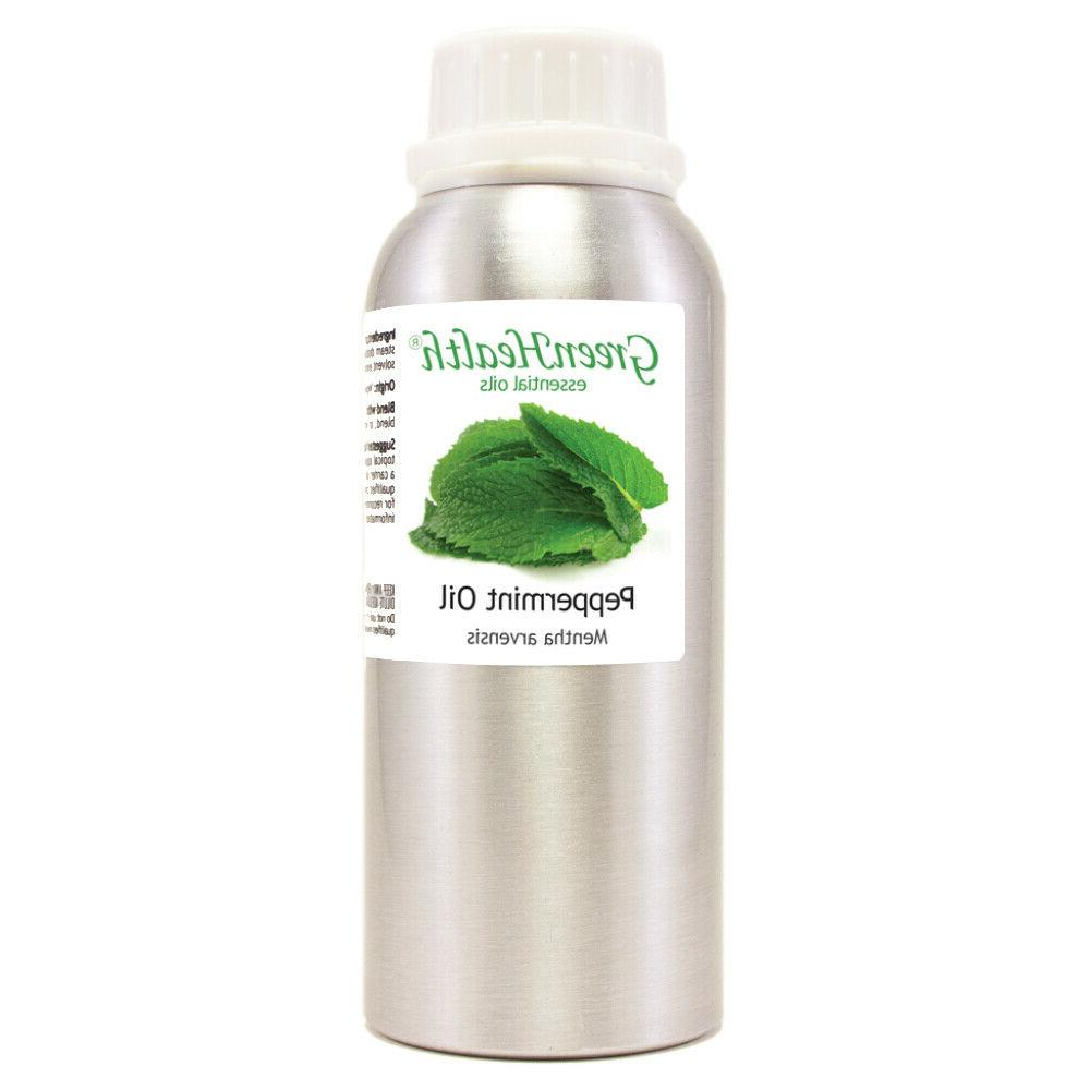 peppermint glass bottle