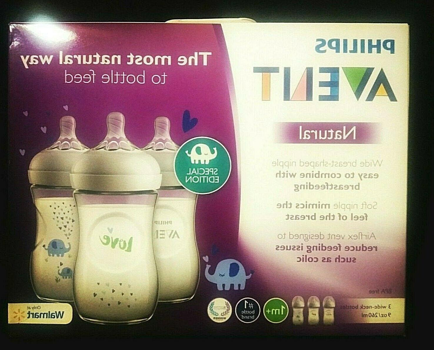 phillips avent natural 1m 3 pack wide
