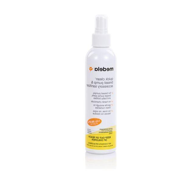 Medela Quick Clean Breast Pump & Accessory Sanitizer Spray