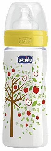 Chicco Unisex Silicone Feeding Bottle 330 ml / 11 oz Fast Fl