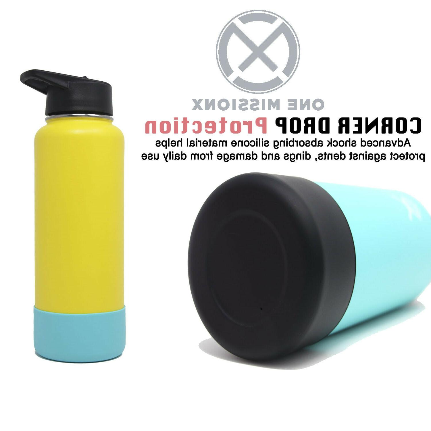 silicone protective sleeve boot for hydro flask
