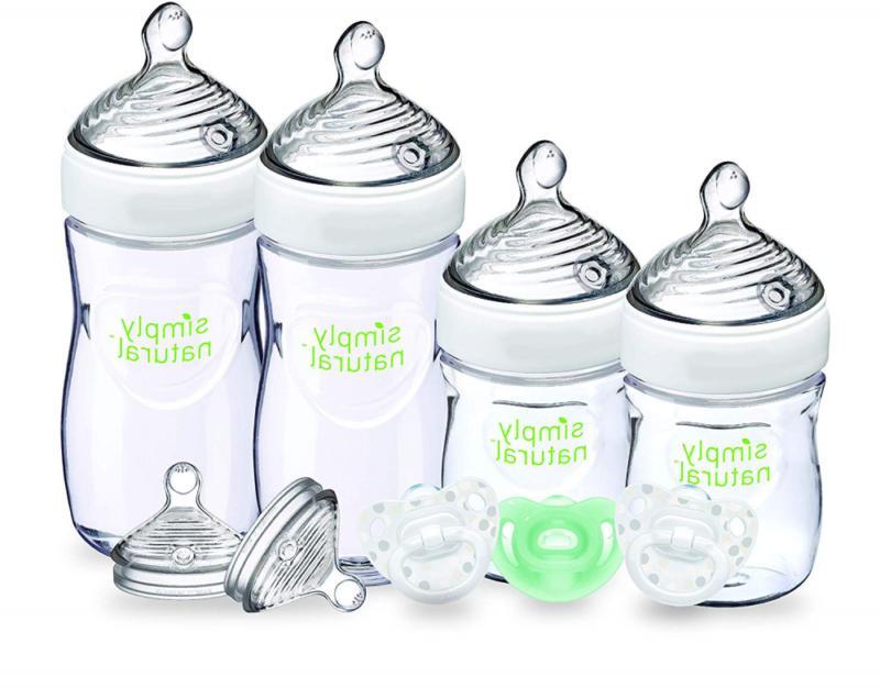 simply natural bottle newborn gift set