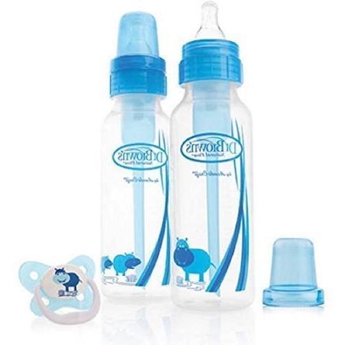 sn blue bottles pacifier gift