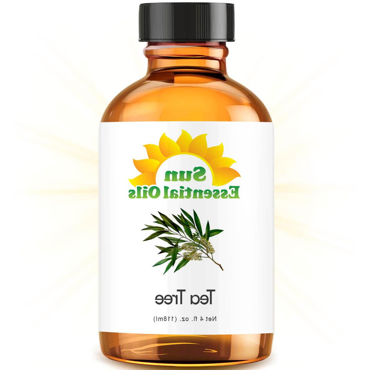 tea tree essential oil large 4oz 100