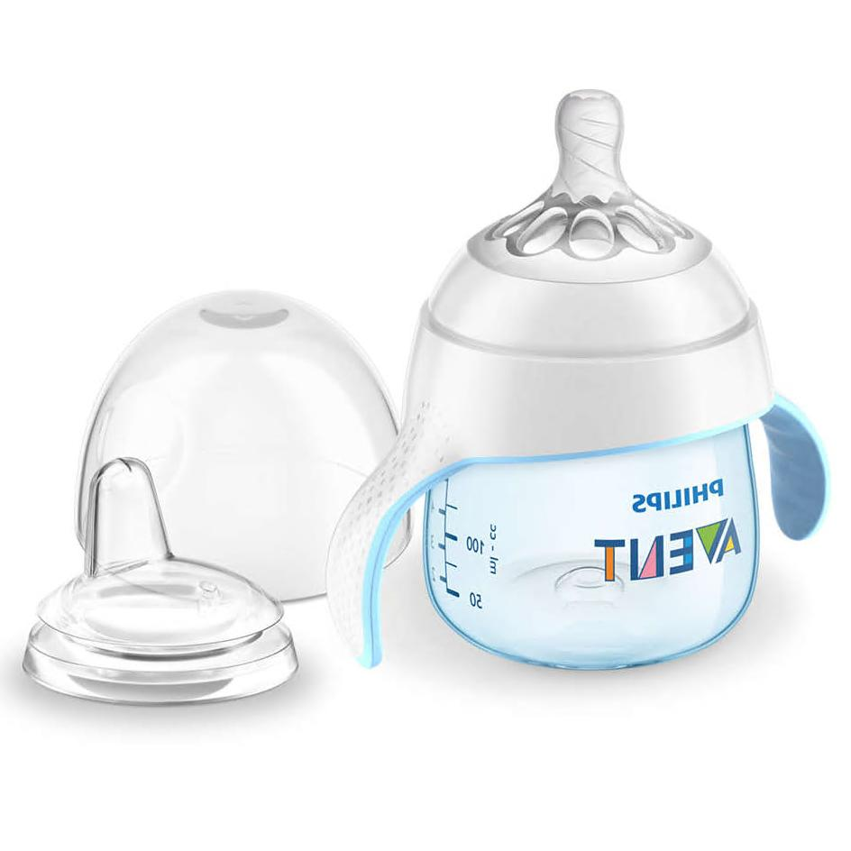 Philips Avent My Natural Trainer Sippy Cup 5oz Clear 1pk SCF262//03