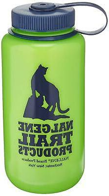 Ultralite Wide Mouth 32 oz Water Bottle Green Outdoor Travel