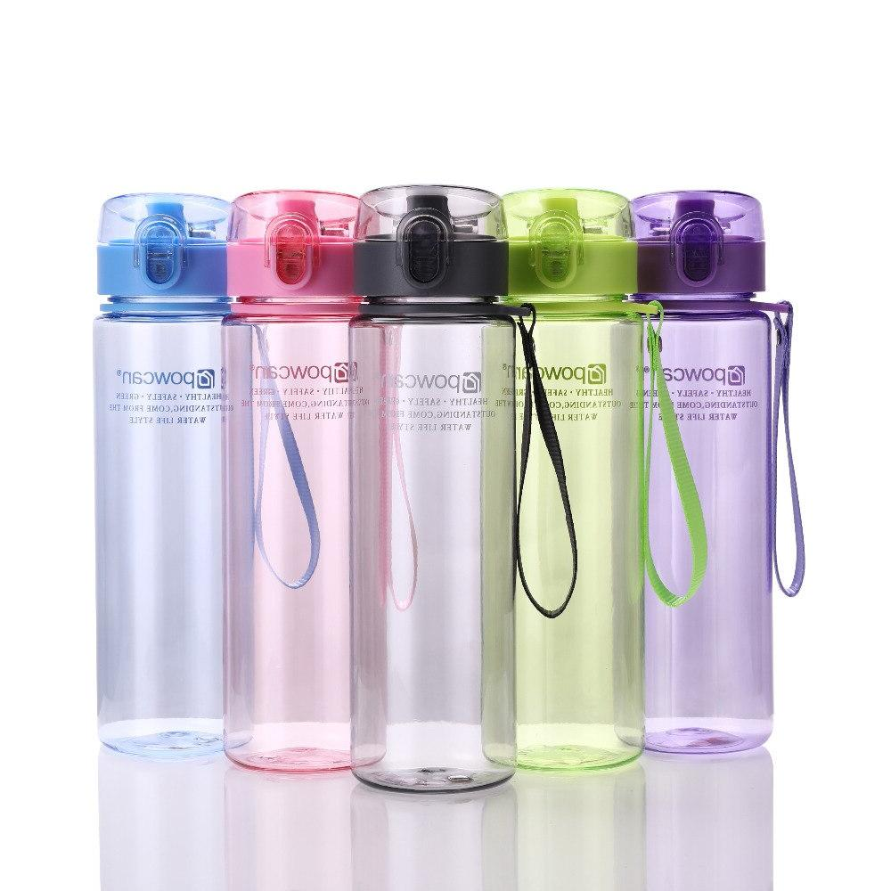 Water 560ML Plastic Drinkware Tour Outdoor Sport School Proof Seal <font><b>Bottles</b></font>