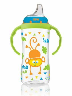 NUK Large Learner Sippy Cup, Blue Jungle Designs, 10oz 1pk