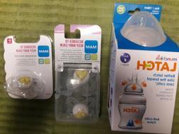 Munchkin Latch BPA-Free Baby Bottle & 3 Mam Pacifiers-New-ne