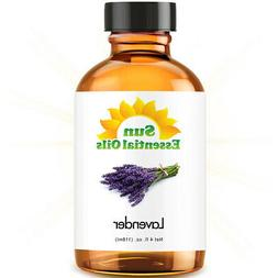 Lavender Essential Oil by Sun Essentials, 4oz