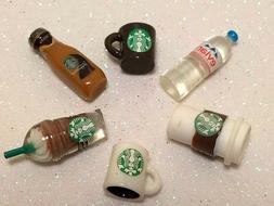 Littlest Pet Shop LPS LOL Doll Accessories 6 PC Starbucks Dr