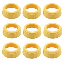 MEDELA Bottle Nipple Collars Rings  New! for slow or medium