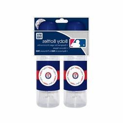 MLB Texas Rangers Baby Bottles, 2-Pack