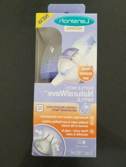 Lansinoh Momma Breastmilk Feeding Bottle 5 Oz Natural Wafe N