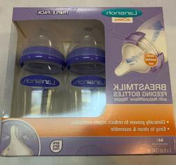 Lansinoh mOmma Breastmilk Feeding Bottles 3 Pack 8oz Brand N
