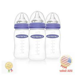 Lansinoh mOmma Feeding Bottle 8 Ounce - 3 Count