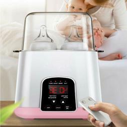 Mommy Portable Baby Double Bottle Warmer Steam Sterilizer Fo