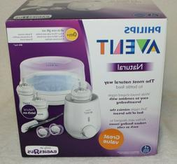 Philips Avent Natural All-in-One Gift Set w/ Microwave Steri
